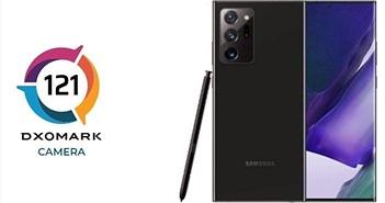 Xếp hạng camera của DxOMark: Galaxy Note20 Ultra 5G xếp vị trí thứ 8