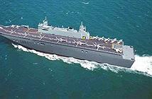 Australia muốn hoán cải tàu đổ bộ tấn công thành tàu sân bay