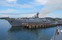 Tàu Hải quân Việt Nam khởi hành thăm ba nước Đông Nam Á