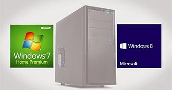 Microsoft sẽ cấm bán PC cài đặt Windows 7 và Windows 8.1 trong năm sau