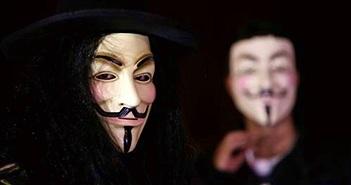 """Anonymous thực hiện """"lời hứa"""" công bố danh sách thành viên KKK"""