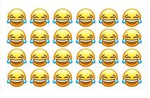Cười ra nước mắt là emoji phổ biến nhất trên iOS và macOS