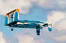 Cận cảnh máy bay giao hàng không người lái của Amazon