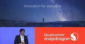 CEO Xiaomi phát biểu tại lễ ra mắt Snapdragon 845, tuyên bố flagship tiếp theo sẽ chạy chip mới của Qualcomm