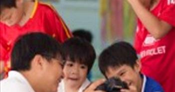 """Gần 1200 tình nguyện viên và nhiếp ảnh gia sẽ tham gia """"Nhật ký nụ cười"""""""
