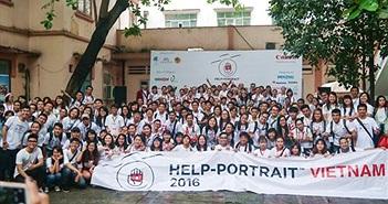 Ngày hội Help Portrait lần 8 chủ đề Nhật ký nụ cười diễn ra từ 9/12/2017
