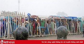 Phong thủy không tốt, 40 quả cầu trang trí sân Mỹ Đình được dịch chuyển để phá dớp cho tuyển Việt Nam