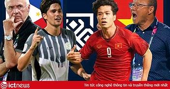 Việt Nam vs Philippines: Nhận định bóng đá, đội hình ra quân