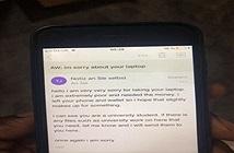 """Chuyện lạ hôm nay: Trộm máy tính, tên trộm """"tử tế"""" gửi email xin lỗi..."""
