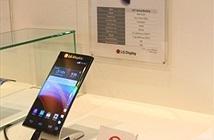 Bật mí mẫu smartphone màn hình cong bí mật của LG
