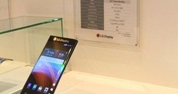 'Bật mí' mẫu smartphone màn hình cong bí mật của LG
