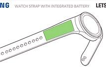 Đồng hồ Gear S4 có thể tích hợp cảm biến vân tay, dây đeo có pin bên trong