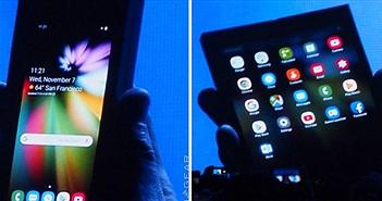 Smartphone có thể gập lại của Samsung sẽ đi kèm 3 camera sau
