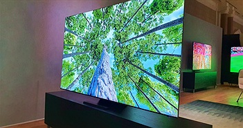 Cận cảnh TV 8K không viền màn hình của Samsung tại CES 2020
