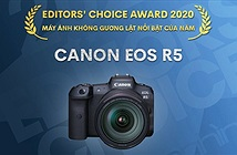 Editors Choice Awards 2020: Máy ảnh không gương lật nổi bật của năm - Canon EOS R5
