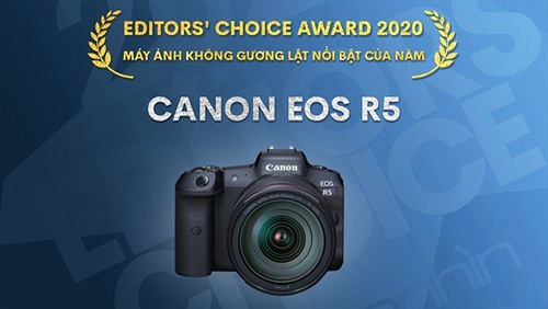 Editors' Choice Awards 2020: Máy ảnh không gương lật nổi bật của năm - Canon EOS R5