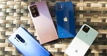 Doanh số smartphone toàn cầu đạt 1,5 tỷ máy năm 2021