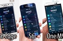 Thử benchmark Galaxy S6, S6 Edge và One M9 tại MWC 2015