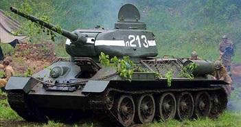 Xem huyền thoại xe tăng T-34-85 nã đạn pháo
