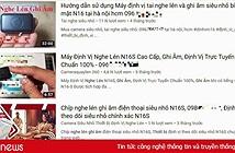 Tai nghe lén, bút camera và loạt đồ gian lận thi cử được quảng cáo tràn lan trên Youtube, không hề bị kiểm duyệt