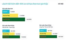 UberX được đưa về Việt Nam, miễn phí tại Hà Nội trong 3 ngày
