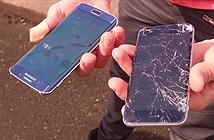 Galaxy S6 edge 'cứng' hơn hẳn iPhone 6 qua bài test thả rơi