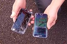 Cùng rơi từ 2m iPhone 6 thua Galaxy S6 edge