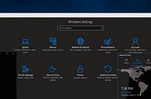 Đã có Windows 10 build 14316 Preview: giao diện đen, Cortana sync thông báo, Skype univesal, bash...