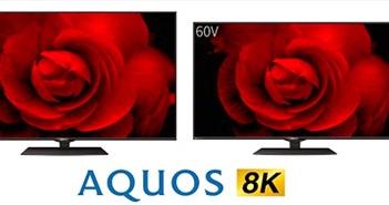 Sharp ra mắt hai TV thông minh Aquos 8K mới với tấm nền Pure Color 8K