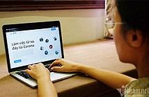 Làm việc online mùa dịch: Chồng điểm danh thay để vợ ăn cơm
