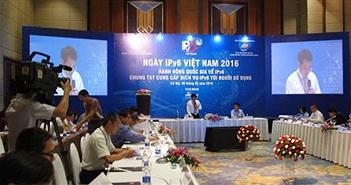 Tỷ lệ người dùng IPv6 tại Việt Nam thấp hơn thế giới 300 lần