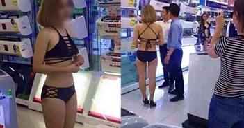 Điện máy Trần Anh bị phạt 40 triệu đồng vì vụ mặc bikini bán hàng