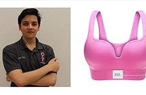Chàng trai trẻ phát minh áo ngực để phát hiện ung thư vú