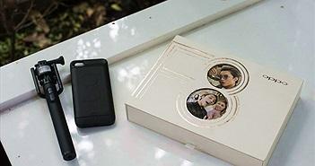 Trên tay Oppo F3: sự kết hợp thú vị của camera tự sướng kép