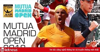 K+ độc quyền phát sóng giải quần vợt Mutua Madrid Open và giải Golf PGA Tour