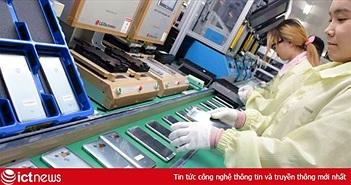 Dây chuyền sản xuất smartphone của Hàn Quốc đang lụi tàn khi LG và Samsung chuyển sang Việt Nam làm điện thoại