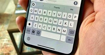 Chạm 2 lần vào phím cách trên iPhone: Thủ thuật cực hay