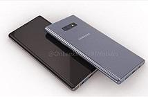 Samsung Galaxy Note 9 lộ ảnh render với thiết kế camera thay đổi