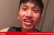 Em út tuyển Việt Nam tung Vlog ăn nồi lẩu Thái chua cay... siêu nhỏ