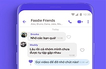 Viber hé lộ tính năng mới: Gọi video nhóm cùng lúc 20 người