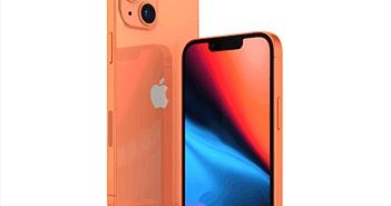 iPhone 13 sẽ có màu cam mới này