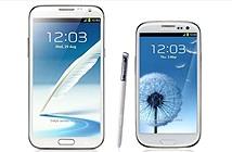Samsung bỏ rơi Galaxy Note 2 và S3 ở một số thị trường