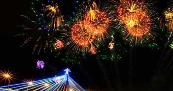 Đà Nẵng: Nhắn tin bình chọn kết quả thi trình diễn pháo hoa trên máy tính