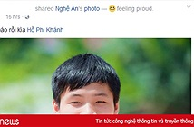 Facebook thủ khoa 3 điểm 10 ở Nghệ An live stream cảnh bà con đến nhà chúc mừng