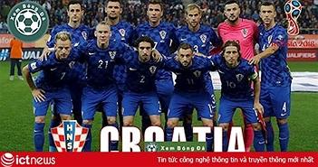 Thông tin mới nhất về đội tuyển Croatia trước trận Croatia vs Nga rạng sáng mai (8/7)