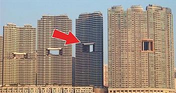 """Tại sao các tòa nhà cao tầng ở Hong Kong lại hay có """"lỗ thủng"""" ở giữa?"""