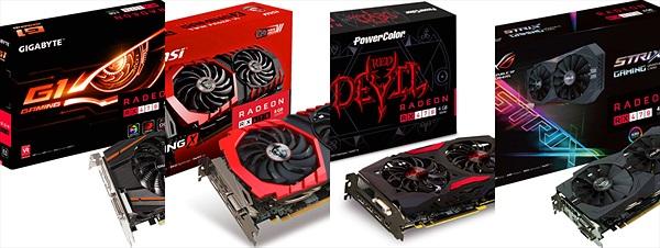 Tổng hợp hình ảnh của các dòng card AMD RX 470 bản custom sẽ được bán tại Việt Nam