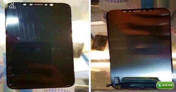 NÓNG: iPhone 8 lộ ảnh thực tế, không có Touch ID