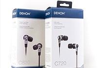 Cận cảnh bộ đôi tai nghe Denon C720 và C820