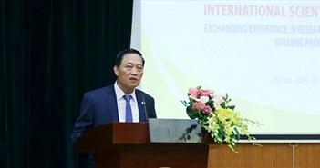 Bàn giải pháp phát triển, sản xuất sâm tại Việt Nam